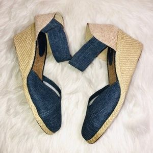 Lauren Ralph Lauren Denim Wedges 11